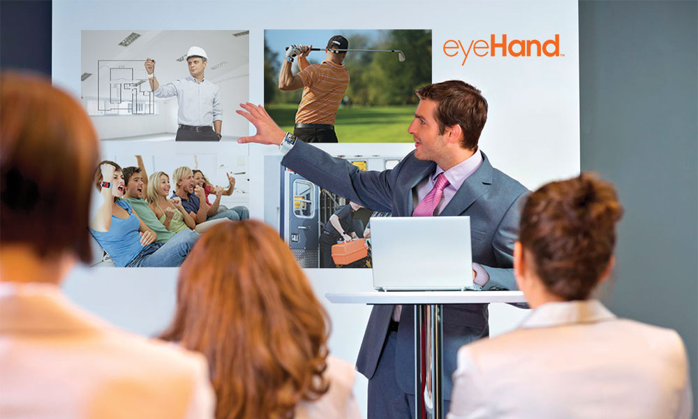 eyeHand - computing male